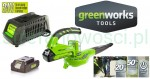 Akumulatorowa dmuchawa do lisci 24V/2Ah GreenWorks