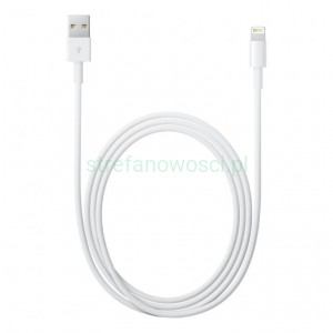 Apple Kabel MD818ZM/A ze złącza Lightning na USB