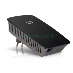Ekspander zasięgu Wireless-N Linksys RE1000 WiFi