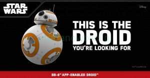 Robot BB-8 Sphero AnDroid /iOs bluetooth Star Wars